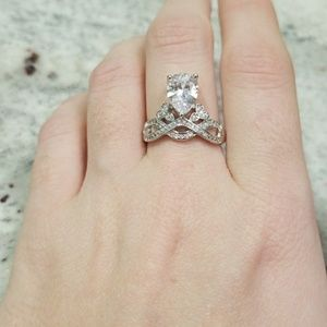 Jewelry - Sterling Silver Princess Ring